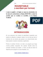 Las Estructuras Del Aprendizaje Cooperativo Round Table