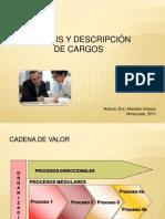 Descripcion de Cargos