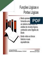 AB Funcoes Logicas Portas Logicas