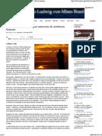 IMB - A Economia e Os Problemas Essenciais Da Existência Humana
