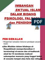 19289769 Sumbangan Intelektual Islam Dalam Psikologi Falsafah Dan Pendidikan