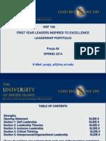 mini portfolio ppt