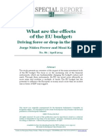 SR No 86 Effects of the EU Budget