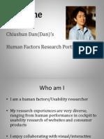Portfolio HF Researcher
