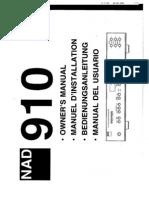 910 A_V Surround Sound Processor