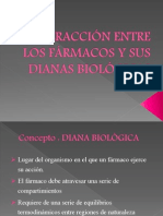 1.3 Interaccion Entre Los Farmacos y Sus Dianas Biologicas