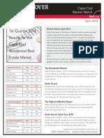 market watch 1st quarter 2014