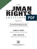 The Human Rights Encyclopedia. Vol. 2