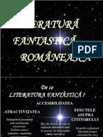 Literatura Fantastica Romaneasca
