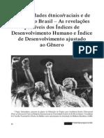 Desigualdades Étnico Raciais e de Gênero No Brasil