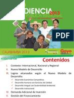 II Audiencia Pública 2013- Cajabamba