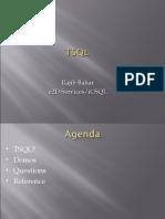 TSQL demos