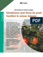 GHID Pomi fructiferi