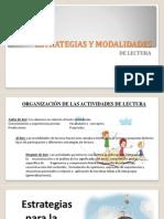 Modalidades y Estrategias de Lecturacon Audio