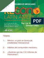 El Consumidor Mexicano ICSC (11 Abril 2010)