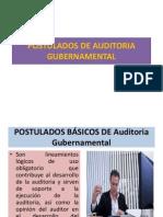 Postulados de Auditoria Gubernamental