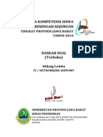 3. Soal IT-Networking Support 2014