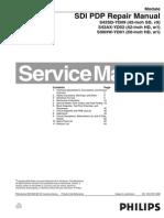 Philips Sdi-pdp s42sd Yd09 s42ax Yd02 s50hw-Yd01 Repair-manual