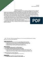 heriford assessment plan
