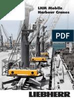 Liebherr LHM Mobile Harbour Cranes Brochure en 8568-0