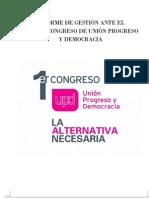 1er Congreso - Informe_de_Gestión