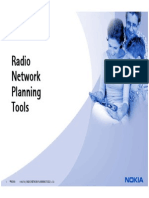 EXPLAIN M11 - 1 Radio Network Planning Tools