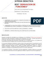 Webquest- Derivacion de Funciones