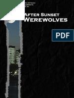 d20 Modern - After Sunset, Werewolves