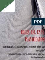 Roles Ente Planificador