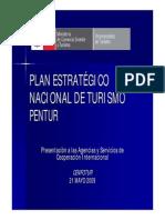 Plan Estratégico Nacional de Turismo - Perú