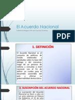 El Acuerdo Nacional (1)