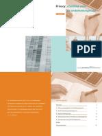Privacy Checklist voor Ondernemingsraad (CBP 2001)