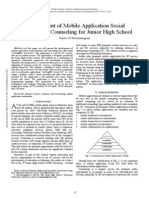 Development of Mobile Application Social Guidance and Counseling for Junior High School