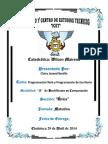 Programación Web Informe Icet