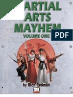 d20 Modern - Martial Arts Mayhem, Vol 1