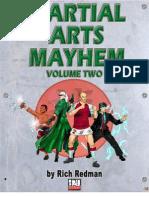 d20 Modern - Martial Arts Mayhem, Vol 2