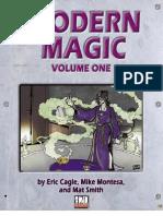 d20 Modern - Modern Magic Volume 1