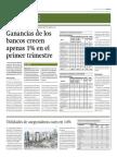 Ganancias de Bancos Crecen 1%_Gestión_29!04!2014