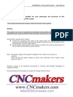 GSK928TEa Lathe CNC System User Manual