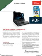 Lenovo Thinkpad T420s datasheet