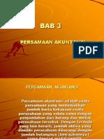 Bab-3 (Persamaan Akuntansi)