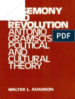 Adamson - Hegemony and Revolution Gramsci's Political and Cultural Theory 1980