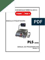 Torrey- Series PLS Manual de Servicio