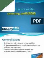 Características Del Samsung Ue46f8000
