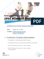FESA'S 2014 Summer Institute