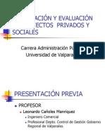 Curso Evaluación de Proyectos 13.11