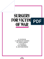 Surgery for victims of war