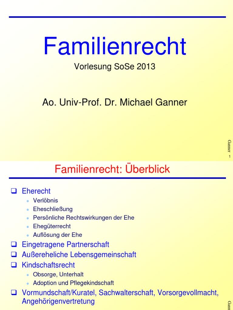 Familienrecht Teil 1