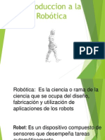 3.1 3.2 Introduccion a La Robótica