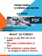 Physics Form 4. Chapter 2. 2.5 Force